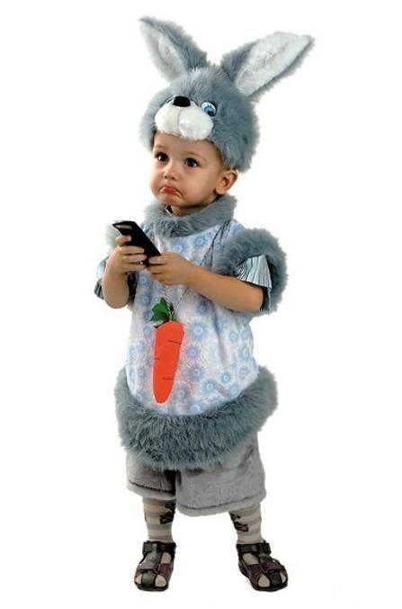 -15% Карнавальный костюм кролик кроха 624de4c7c2eb5