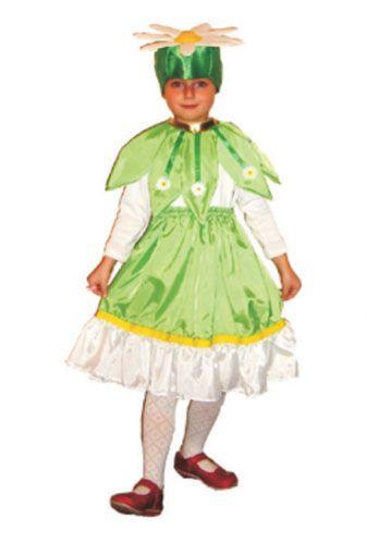 02a9d53320cd4 Детский карнавальный костюм цветка ромашка купить для девочки