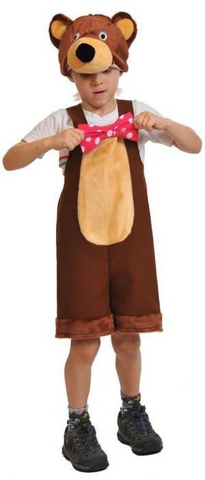 Костюм Медведь цирковой ткань-плюш — купить в интернет-магазине ... dd7690310e3bb