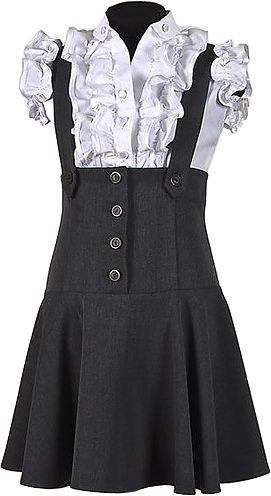 1e972d225c2 Школьный сарафан для девочки подростка серый купить в интернет ...