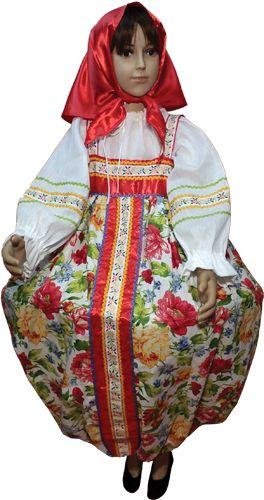 Карнавальный костюм матрешки для девочки купить в интернет магазине ... ff6fe61168296