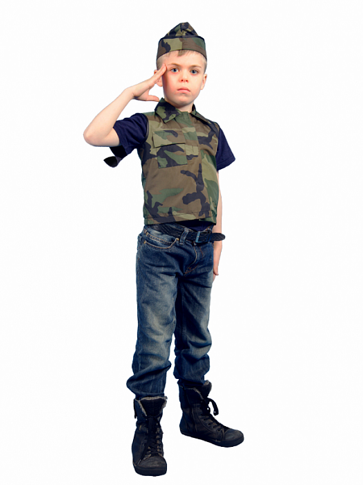 Костюм солдата своими руками фото 14