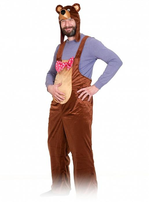 Карнавальный костюм Медведя для взрослого — купить в интернет ... 8241e15c7a4b5