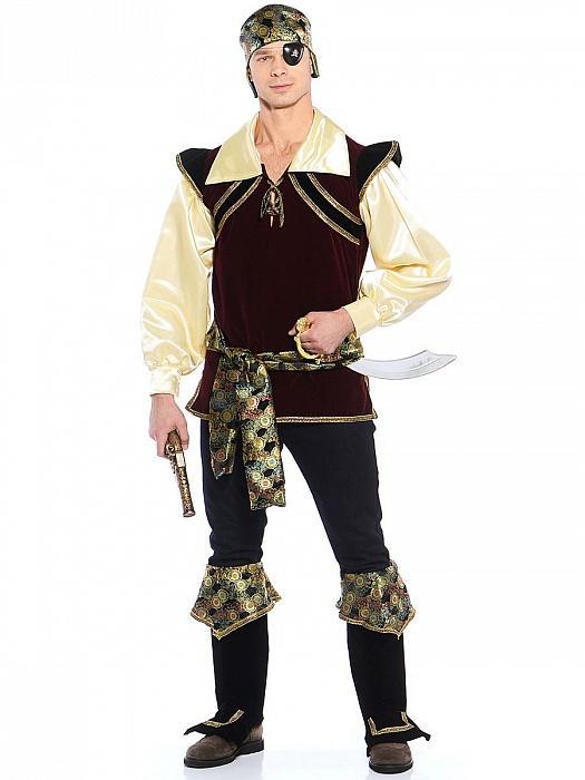 Карнавальный костюм Пирата корсар взрослый купить новогодний a86575b459375