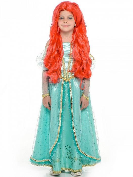 bad380bab7f Костюм для девочки принцесса диснея Ариэль купить новогодние костюмы