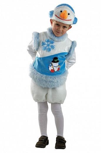 Костюм для мальчика снеговика