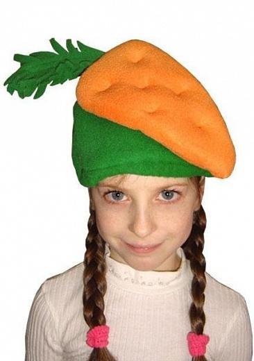 Шапочка овоща на утренник