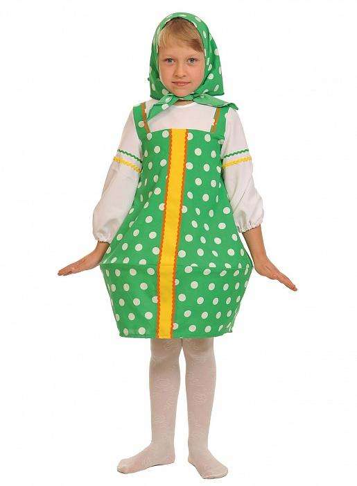 Костюм Матрёшка зеленая — купить в интернет-магазине Lanta.biz 71f730297a6e0
