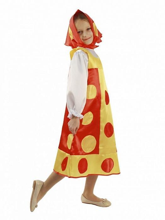 Детский костюм Матрешка красная — купить в интернет-магазине Lanta.biz 87866f3345a60