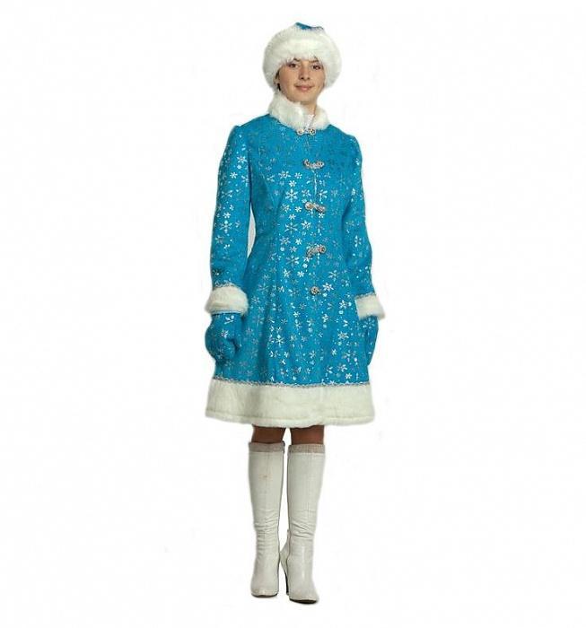 купить новогодний костюм снегурочки
