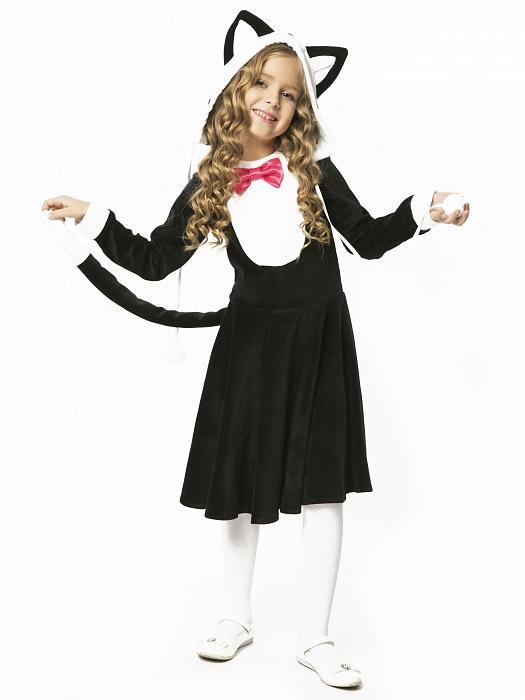 123bffe0c4d65 Новогодний костюм кошки для девочки купить Москва доставка